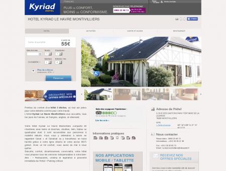 Hotel KYRIAD LE HAVRE MONTIVILLIERS