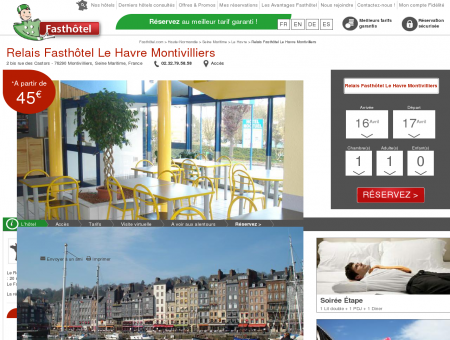 Hotel Le Havre. - FASTHOTEL. SITE OFFICIEL -...