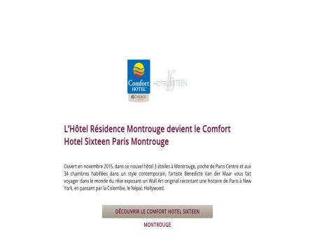 LHôtel Résidence Montrouge devient le...