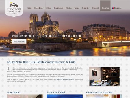 Hôtel Le Clos Notre Dame - Site Officiel -...