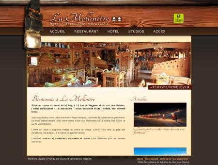 Hôtel Restaurant La Mollinière - Notre Dame...