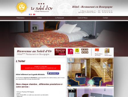 Hotel Montigny la Resle, Restaurant...