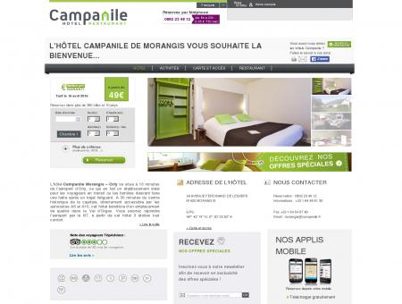 Campanile Morangis | Proche Orly | Site Officiel