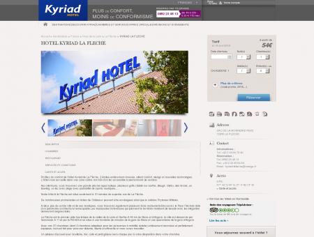 Hotel Kyriad La Fleche | Hotels Kyriad