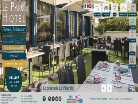 Hotel Plessis Parc l La Brasserie La Véranda