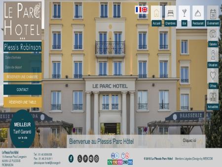 Le Plessis Parc Hotel | Plessis Robinson l Site...