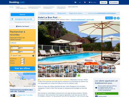 Booking.com: Hotel Le Bon Port - Collioure,...