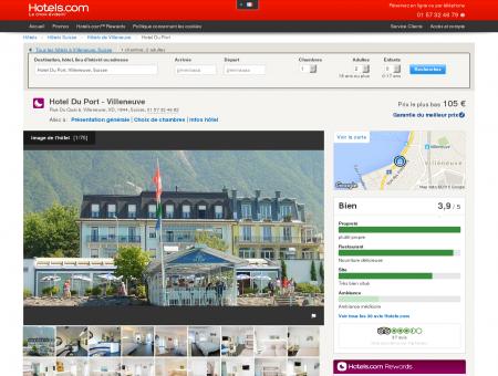 Du Port Villeneuve - Hotel Le Port