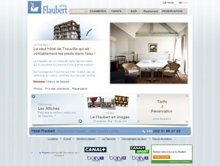 Hôtel Flaubert - Sur la plage de Trouville
