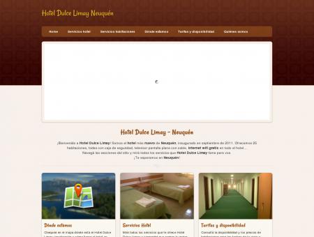 Hotel en Neuquen: Hotel Dulce Limay