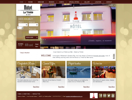 3 star hotel in La Trinité sur Mer - Hotel Le Trinité