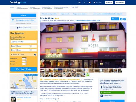 Booking.com: Trinite Hotel - La Trinité-sur...