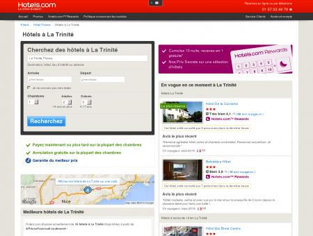 Hôtels La Trinité | Hotels.com