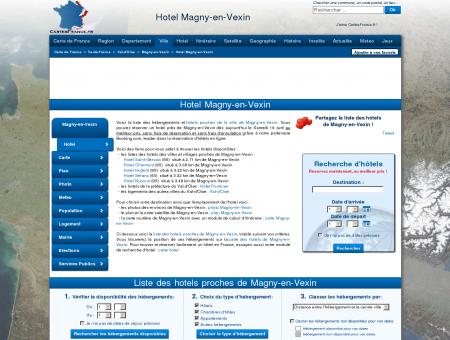 HOTEL MAGNY-EN-VEXIN : Réservation hôtels...