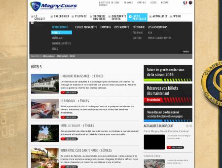 Hôtels - Circuit de Nevers Magny-Cours -...