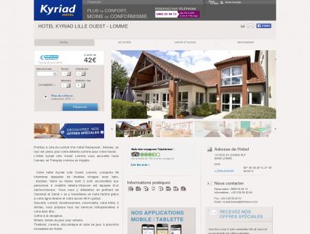 Hôtel KYRIAD LILLE OUEST - Lomme - Hôtel à...