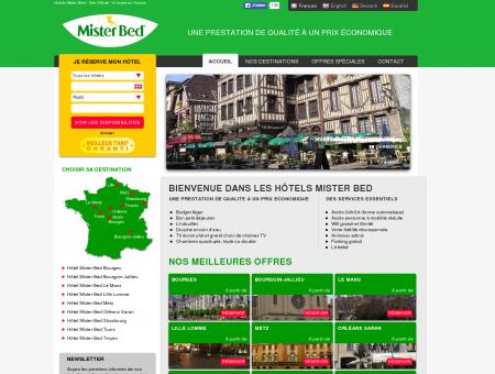 Hôtels Mister Bed - Découvrez nos 9 hotels en...