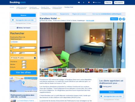 Booking.com: Karaibes Hotel - Le Gosier,...