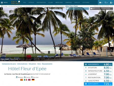 Hôtel Fleur d'Epée, Le Gosier - description ...