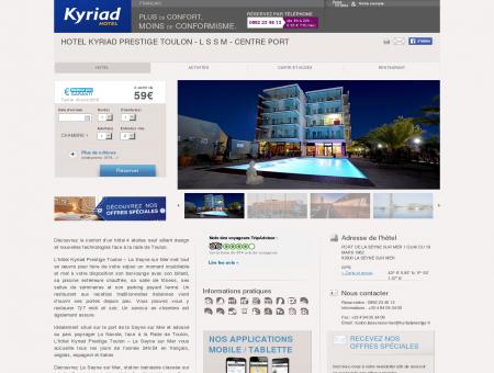 Hotel KYRIAD PRESTIGE TOULON - L S S M -...
