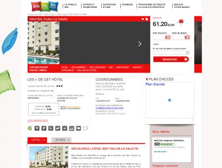 Hotel pas cher LA VALETTE DU VAR - ibis...