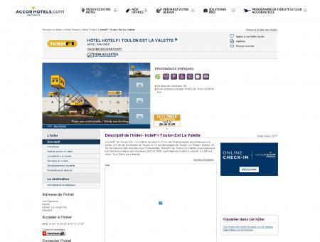 Hôtel à LA VALETTE - hotelF1 Toulon Est La...