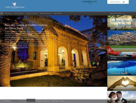 Hôtels 5 étoiles à Malte | Hôtel de luxe...