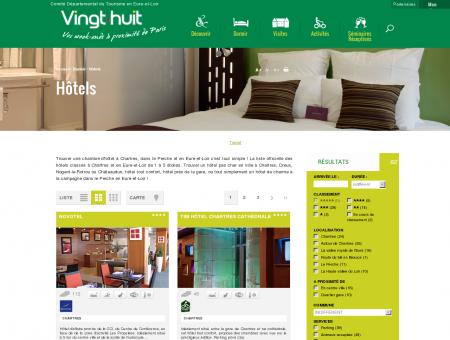 Hôtel à Chartres et Eure et Loir guide officiel de...