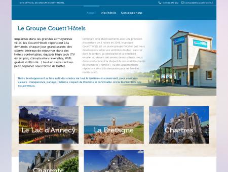 Le Goupe Couett'Hôtels | Hôtels économique 2...