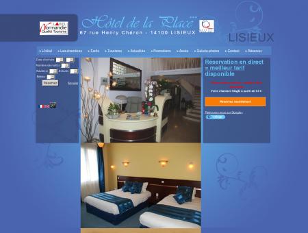 Hotel 3 étoiles Lisieux - Chambres d'hôtel de...