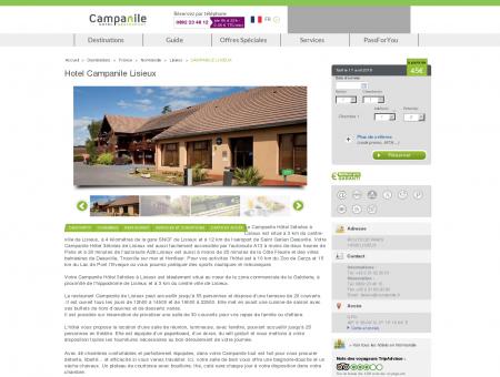 Hotel Campanile Lisieux | Campanile