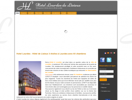 Hotel Lourdes - Hôtel de Lisieux 3 étoiles à...