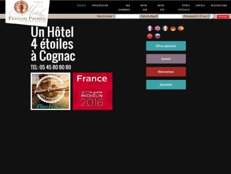 Hôtel Cognac 4 étoiles haut de gamme Spa -...