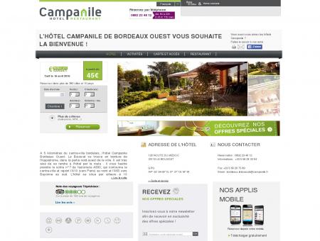 Campanile BORDEAUX OUEST | Proche Le...