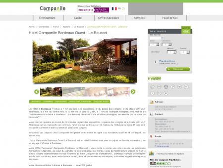 Hotel Campanile Bordeaux Ouest - Le Bouscat...