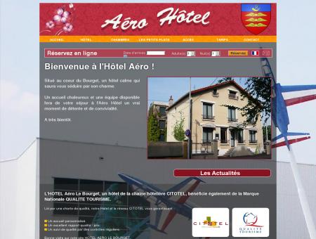 Accueil et Services à l'HOTEL Aéro, SITE...
