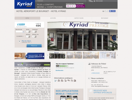 Hotel Aéroport Le Bourget - Hotel Kyriad |...