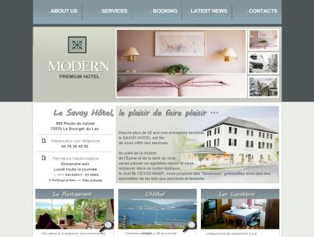 Le Savoy Hôtel en Savoie - Le Bourget du Lac