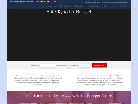 Les chambres de l'Hotel ''' Kyriad Le...