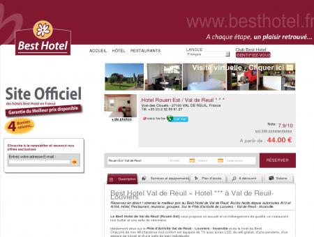 Best Hotel Val de Reuil » Hôtel *** à Val de...