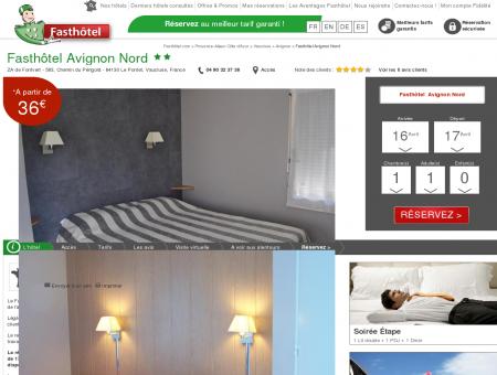 Hotel Avignon Le Pontet - FASTHOTEL. SITE...