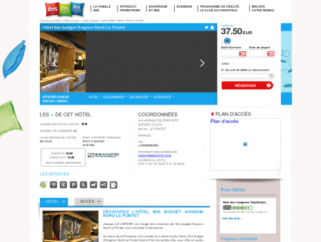 Hotel pas cher LE PONTET - ibis budget...