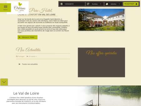 Hotel La Chapelle Saint Mesmin - Hotel...