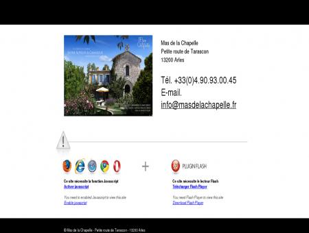 ~Hotel de charme Arles | Mas de la Chapelle,...