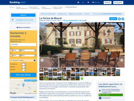 La Ferme de Maurel - Booking.com: 824,334...