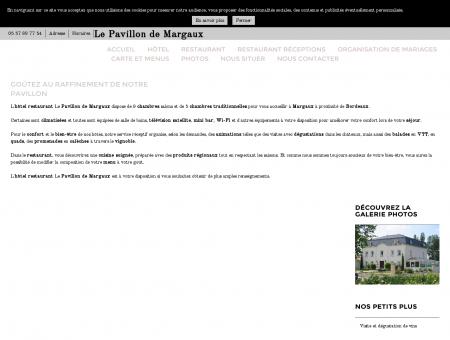 Hôtels - Le Pavillon de Margaux à Margaux