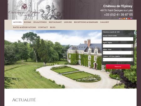 Château de l'Epinay, Hôtel Restaurant et Spa...