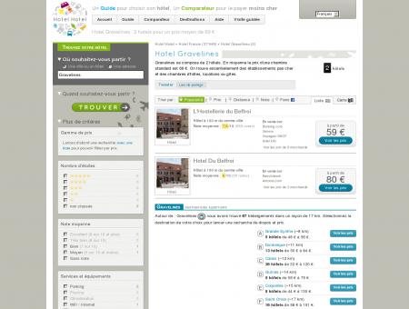 Hotel Gravelines : 2 hotels pour un prix...
