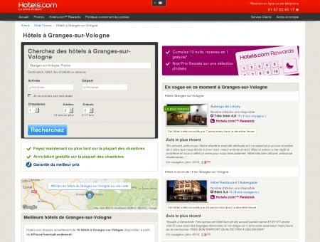 Hôtel Granges-sur-Vologne - Hotels.com -...