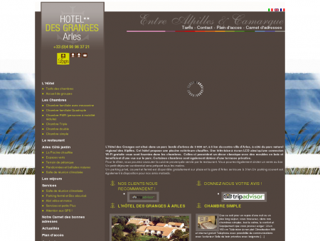 Hôtel des Granges Arles, Votre hôtel entre...